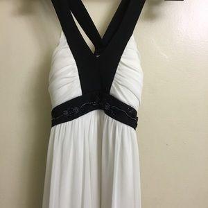 PROM 🔥🔥 Black and White Cross Dress